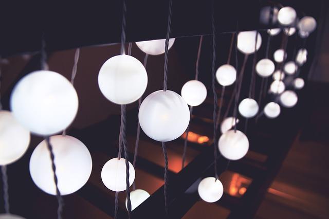 kulaté osvětlení